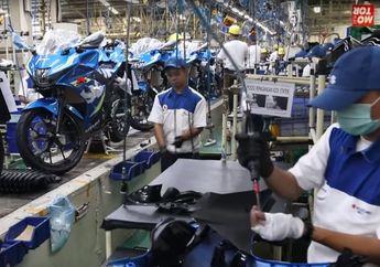Pabrik Mulai Beroperasi, Selain Fokus Untuk Eksport, Suzuki Indonesia Tetap Jaga Karyawan Bekerja Sesuai Protokol Kesehatan