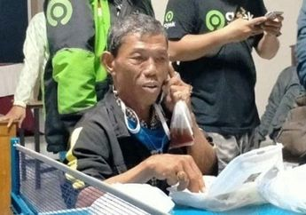 Driver Ojol Tua Renta Tertunduk Lesu, Dijanjikan Rp 700 Ribu Setelah Tempuh Perjalanan 230 Km Purwokerto-Solo, Malah Ditinggal Kabur