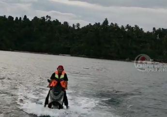 Yang Liat Pasti Tercengang, Pria Ini Buat Yamaha NMAX Bisa Berjalan di Atas Air Ala Jet Ski