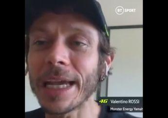 Bikin Kangen, Kabar Valentino Rossi Selama Italia Lockdown, Di Rumah Saja