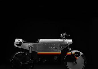 Desainnya Mirip Pesawat Tempur, Motor Listrik Buatan Indonesia Katalis EV.500 Resmi Meluncur