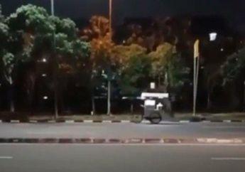 Pemotor Langsung Merinding, Video Gerobak Bakpao Bisa Jalan Sendiri di Depan RS Darurat Corona Wisma Atlet Kemayoran