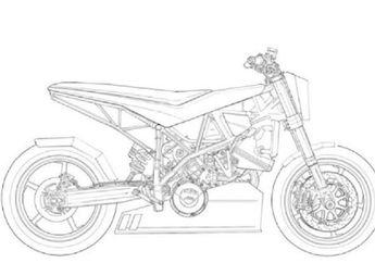 Isinya Sketsa Motor Custom, Buku Gambar Ini Cocok Buat Bikers yang Bosan di Rumah Saja