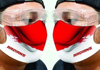 Keren Nih, Selain Bikin Wearpack Balap, Ardians Juga Bikin Masker Non Medis, Bisa Pakai Desain Sendiri, Loh!