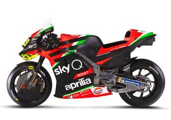 Jadi Makin Tahu, Nama Kode Motor MotoGP Aprilia, Gak Berubah Sejak Pertama Turun Balapan