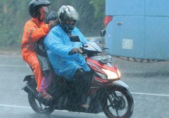 Bikers Siap-siap Jas Hujan, BMKG Sebut Beberapa Wilayah di Jakarta dan Sekitarnya Akan Turun Hujan Hari Ini