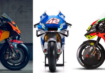 Gak Banyak Yang Tahu, Trio Motor MotoGP Suzuki, Aprilia dan KTM Ada Kesamaan Yang Mirip, Apanya Ya?