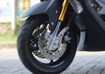 Jadi Terlihat Moge dan Lebih Pakem, Yamaha All New NMAX Pasang Double Disc Brake, Segini Banderolnya