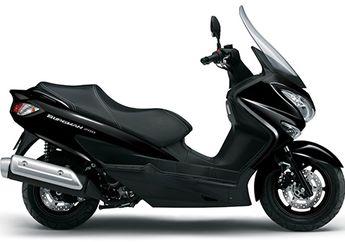 Tampang Sangar dan Cc Besar, Apakah Suzuki Burgman 200 Jauh Lebih Bertenaga dari Yamaha All New NMAX dan Honda PCX 150?