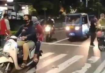 Koplak, Ada Bikers Gak Takut Covid-19, Gak Pakai Masker, Gak Mau Kena Sanksi