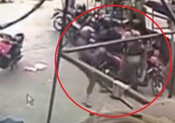 Mencekam, Video Detik-detik Seorang Polisi Ditembak Oleh Dua Orang Pemotor di Poso, Warga Langsung Berhamburan