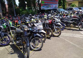 Biar Kapok! Ratusan Honda BeAT dan Motor Balap Liar Lainnya Mangkrak di Kantor Polisi, Begini Cara Ambilnya