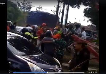 Bar Bar Tawuran Debt Collector Vs Rombongan Pemotor Terjadi Luka-luka dan Masuk Rumah Sakit