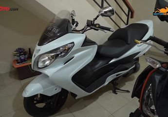 Suzuki Skywave 250 Bekas Skutik Gambot Super Langka Harganya Bikin Dompet Melongo
