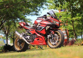 Pengin Tampilan Motor Jadi Lebih Padat, Kawasaki Ninja 250 Ini Comot Kaki-kaki Kepunyaan ER-6n, Habisnya Segini