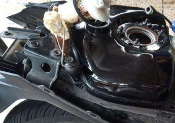 Ternyata Efeknya Seperti Ini, Waspada Tangki Motor Jangan Sampai Kemasukan Air, Intip Langsung Videonya