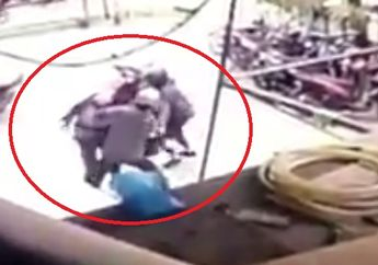 Mencekam Berebut Senjata Laras Panjang Polisi Vs Teroris alias Begal Berakhir Ditembak Mati, Darah Sampai Berceceran