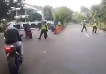 Arogan! Berani Tabrak Polisi Gerombolan Pemotor Moge Akhirnya Tertangkap Kunci dan Motor Ditahan Mereka Dihujat Netizen