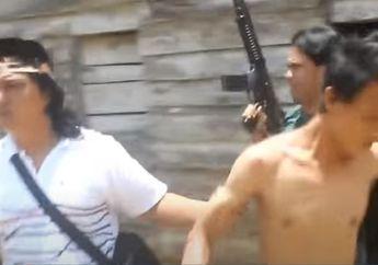 Warga Ketakutan, Video Penangkapan Dua Begal Sadis, Pelaku Gemetaran Lihat Polisi Bawa Senjata Laras Panjang