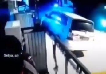 Brutal! Satpam Terkapar Bersimbah Darah Dibacok Pemotor Misterius, Gara-gara Ditegur Gak Pakai Masker