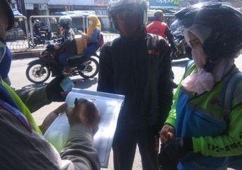 Pemotor Waspadalah, PSBB Kota Bandung Larang Motor Berboncengan Tanpa Kecuali
