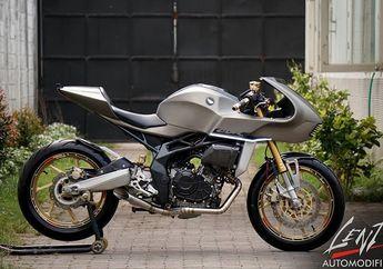 Modifikasi Honda CBR250RR Cafe Racer, Gabungan Konsep Retro dan Futuristis
