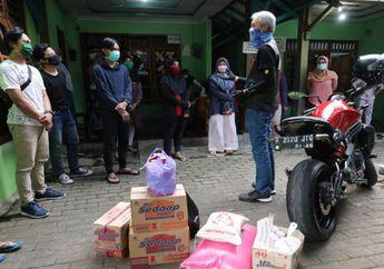 Viral! Gubernur Jawa Tengah Ganjar Pranowo Naik Kawasaki ER-6n Mendadak Datangi Kos Mahasiswa, Ada Apa?