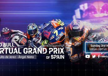 Simak Bro, Line-Up Lengkap Pembalap MotoGP, Moto2 dan Moto3 Ngegas Di MotoGP Virtual Race 3
