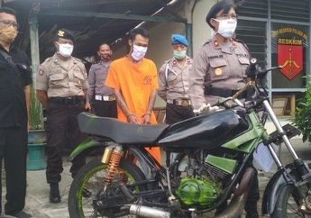 Koplak, Niat Pamer Tunggangan Baru Yamaha RX-King di Sosmednya, Mantan Narapidana Asimilasi Malah Balik Lagi ke Penjara