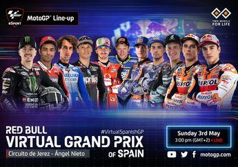 Catat Jangan Lewatkan, Pembalap MotoGP Duel Lagi di MotoGP Virtual Race III, Nih Perbedaan Dari Sebelumnya