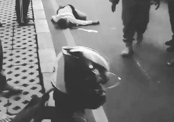Darah Berceceran di Aspal, Seorang Warga Tutup Usia Ditabrak Motor di Cipulir, Kepala Pemotor Langsung Dihajar