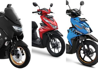 Segini Harga Yamaha NMAX Honda BeAT dan Motor Matic Terbaru Akhir April 2020, Mana yang Paling Murah?