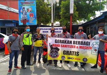 Salut!  YNCI Berbagi Puluhan Ribu Hand Sanitizer Gratis Secara Serentak dari Aceh Sampai ke Papua