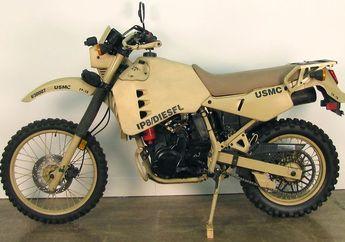 Dijual Rp 280 Jutaan, Kembaran Kawasaki KLX Tapi Bermesin Diesel, Suaranya Bisa Bangunin Sahur Bro