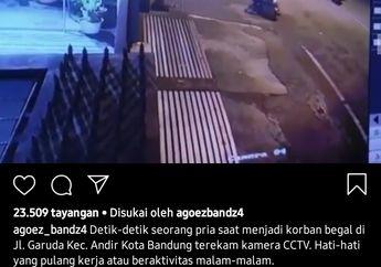 Sadis! Dikejar Kawanan Begal, Pemotor Jatuh Ditendang dan Terseret Aspal, Motor Langsung Dibawa Kabur