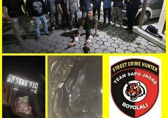 Mantab! Tim Kepolisian 'Sapu Jagad' Lumpuhkan Jambret Dengan Hadiah Timah Panas,Yamaha NMAX 155 Ikut Disita