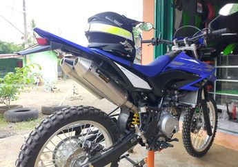Trabas Makin Beringas, Yamaha WR 155R Custom Knalpot Double Muffler