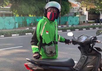 Setelah Viral Videonya di YouTube, Driver Ojol Dorong Motor Kehabisan Bensin Diburu Satpol PP