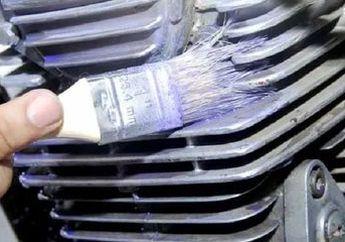 Hanya Rp 30 Ribuan Blok Mesin Motor Dijamin Kinclong, Yuk Bersihkan Sambil Liburan di Rumah Aja