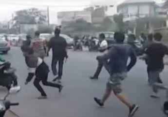 Dua Kelompok Debt Collector Bersenjata Tajam Tawuran dan Jual Kendaraan Sitaan Bikin Polisi Geram Tebar Ancaman