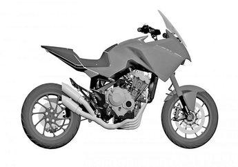 Gagah Banget, Honda Patenkan Desain Motor Baru CB4X Bergaya Adventure dan Sporty, Bakal Segera Dijual?