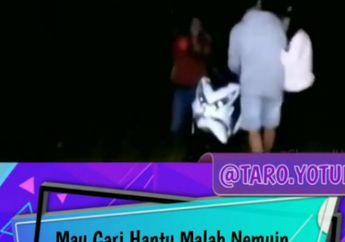 Maksud Hati Uji Nyali, Tim Pemburu Hantu Malah Ketewu Dua Sejoli Asoy Wik-Wik Di Lapangan Bola, Curiga Liat Motor Terparkir