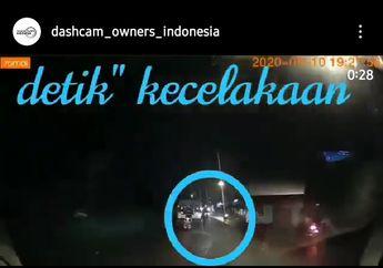 Seketika Nyawa Melayang,Gagal Salip Truck Pemotor Oleng Terjatuh, Kepala Terlindas Ban Belakang