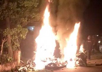 Jambi Memanas, Gara-gara Status Facebook, Dua Desa Bentrok, Puluhan Rumah dan Motor Dibakar,  Kades Tertembak
