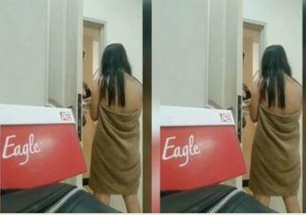 Wow Video Wanita Copot Handuk di Depan Ojek Online Viral di Media Sosial Tapi Netizen Malah Marah