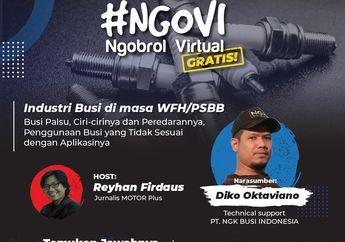 Ngobrol Virtual Seputar Busi NGK Indonesia, Meski Kecil Tapi Penting