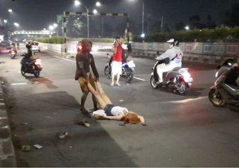 Gempar Video Wanita Seksi Berpakaian Mini Berkulit Putih Rambut Dicat Pirang Menarik Perhatian Pemotor