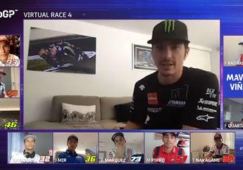 Cuma Bisa Gigit Jari, Maverick Vinales Ungkap Kegagalan di MotoGP Virtual Race IV, Ini Penyebabnya