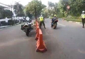 Sempat Viral Geng Motor Kabur Saat Razia PSBB, Ternyata Polisi Temukan Moge Ber-STNK Bodong