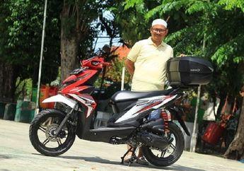 Terkejut Terheran-Heran, Cuma Modal Ubahan Simpel Power Honda BeAT Standar Melonjak 75 Persen